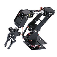DIY 6-DOF Robot Mechanical Arm Kits For Learning Robotics Assembly Kits