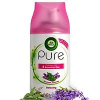 Bình xịt tinh dầu thiên nhiên Air Wick Patchouli Lavender 250ml QT05937 - hoắc hương, oải hương