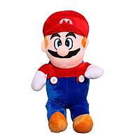 Gấu bông hoạt hình Mario đứng ngộ nghĩnh size 50cm