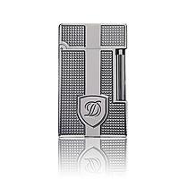 [Hàng Super] Hộp Quẹt Bật Lửa Ga Đá D144T Họa Tiết Ô Vuông Logo Khiêm Cao Cấp