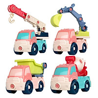 Take Apart Toy Car Build Your Own Kit, Construction Truck, Easy to Assemble and Disassemble Best for Kids Ages 3 and up