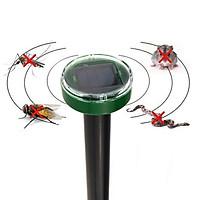 Solar Power Ultrasonic Snake Mouse Pest Repeller Dispeller