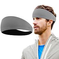 Sport Headband Sweatband Hair Band Anti-slip Headwear Elastic Hair Band Athletic Headband