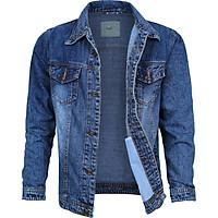 Áo khoác jean nam thời trang cao cấp 02