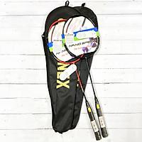 Combo 2 Vợt Cầu Lông Tập Luyện - có cước kèm bao vợt
