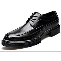 Giày nam cao cấp giày da bò giày nam da thật giày nam thời trang giày nam kiểu dáng hiện đại mã T36123