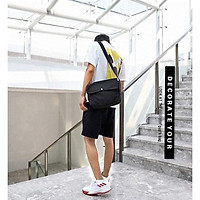 Túi tote vải đeo chéo canvas bag giá rẻ đẹp đi học BL14 phong cách ulzzang