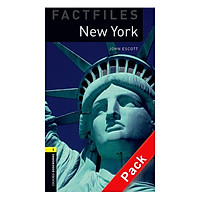 Oxford Bookworms Library (3 Ed.) 1: New York Factfile Audio CD Pack