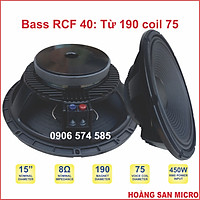 Loa bass rời 40 4 tấc từ 190 coil 75  -  bass 15 inch 15239 - [giá một cái]