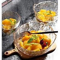 Bát thủy tinh, tô thủy tinh đựng salad hoa quả - 3 size 13cm, 17cm, 20cm - HÀNG CÓ SẴN