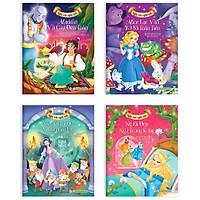 Combo Bộ 4 Cuốn:  Nàng Bạch Tuyết Và Bảy Chú Lùn + Người Đẹp Ngủ Trong Rừng + Aladdin Và Cây Đèn Thần + Alice Lạc Vào Xứ Sở Thần Tiên (Bộ Sách Những Câu Chuyện Cổ Tích Vượt Thời Gian)