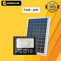 Đèn Pha thông minh Năng lượng mặt trời (40W) JM-JTG25100 – TN05