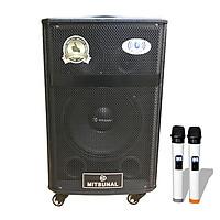 Loa kéo di động karaoke Mitsunal M30 - Có 3 loa Bass, Trung, Tress