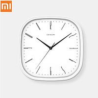 Đồng hồ treo tường Xiaomi Mijia Chuangmi Im lặng Chính xác Phong cách thiết kế đơn giản Đồng hồ trắng cho trang trí nội thất trang trại