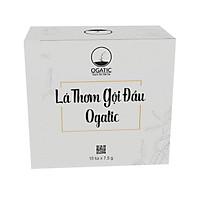 Lá thơm gội đầu Ogatic Hộp 15 gói (7.5gr) thảo dược