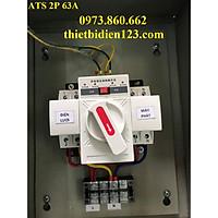 Tủ chuyển nguồn tự động ATS 2P 63A