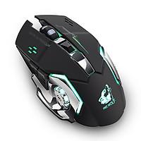 Chuột không dây chuyên game pin sạc Free Wolf X8 - Đen - Hàng Nhập Khẩu