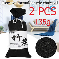 Activated Bamboo Charcoal Package Remove Formaldehyde Carbon Package Automotive Products In Addition To Taste 135g New Car Purification