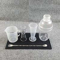 Bộ 6 dụng cụ pha chế quầy bar, cà phê, sinh tố