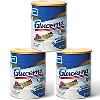 Combo 3 Sữa bột Abbott Glucerna Vanilla dành cho người đái tháo đường và tiền đái tháo đường (850g) - Nhập khẩu Australia