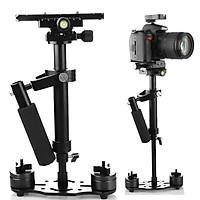 Tay cầm chống rung cơ gimbal cơ S40 chống rung cho điện thoại, Camera hành trình, Camera DSLR nhỏ gọn full phụ kiện
