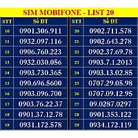 SIM SỐ ĐẸP MOBIFONE - LIST 20 (MBFDS20) - Đầu số 090, 093 - Số dễ nhớ, thần tài, lộc phát, số cặp, số tiến, năm sinh - ĐĂNG KÝ ĐÚNG CHỦ ONLINE-Hàng Chính Hãng