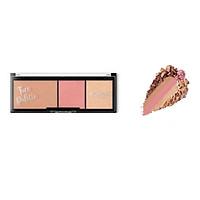 Bảng tạo khối và má hồng Kiko Face Palette
