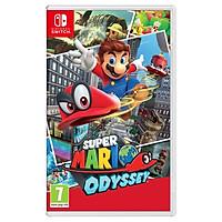 Đĩa Game Nintendo Switch Super Mario Odyssey Nguyên Seal Hệ US - Hàng Nhập Khẩu