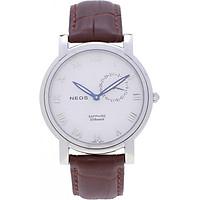 Đồng hồ Neos N-40642M nam dây da