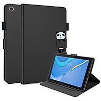 Flip Case For Huawei Enjoy Tablet 2 / MatePad T 10S / MatePad T 10 Flexible Soft Silicone Premium PU Leather Wallet Shell Flip Cover with Card Holder Tablet Case