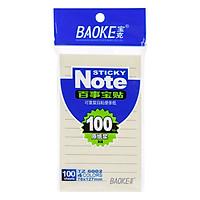 Giấy Note TZ6002 Nhất Trường (100 Tờ)