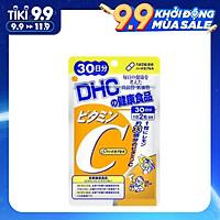 Thực Phẩm Chức Năng: Thực Phẩm Bảo Vệ Sức Khỏe DHC Vitamin C Hard Capsule - (30 Ngày)