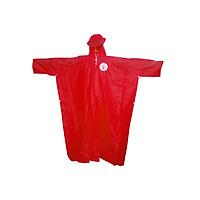 Áo mưa cánh dơi vải nhựa PVC đỏ Coop