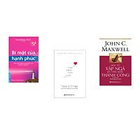 Combo 3 cuốn sách: Bí Mật Của Hạnh Phúc + Học cách mỉm cười + Học từ vấp ngã để từng bước thành công