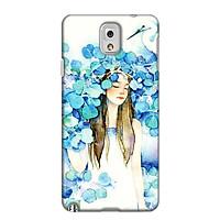 Ốp Lưng Dành Cho Điện Thoại Samsung Galaxy Note 3 - Cô Gái Lá Xanh