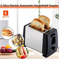 220V 2-Slice Electric Fully Automatic Toaster Household Toast Multifunctional Breakfast Machine Home Sandwich Machine