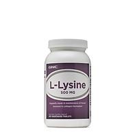 Thực Phẩm Chức Năng Bổ sung lysine cho người thiếu hụt, giúp ăn ngon miệng GNC L-LYSINE 500mg (250 viên/Hộp)
