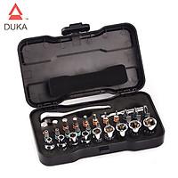 Bộ dụng cụ khoan 33 trong 1 dầy đủ phụ kiện DUKA RS2