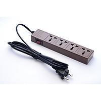 Ổ cắm điện đa năng 4 lỗ tự ngắt Nakagami công nghệ Nhật Bản dây 2m - 3m - 5m