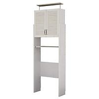 Tủ Phòng Giặt Đồ 8464826 Dolly Japan (80 x 30 x 252.5 cm) - Trắng Có Vân