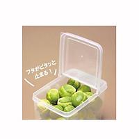 Hộp nhựa đựng thực phẩm nắp bật Nhật Bản 1,1L