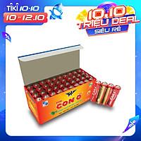 Pin đũa CON Ó (EAGLE) R03 Đỏ AAA - 1 hộp (40 viên) - HÀNG CHÍNH HÃNG