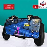 Tay cầm chơi game, kèm nút bấm cao cấp, dành cho điện thoại dưới 6.5 inch, chơi Liên quân Mobile, CrossFire, PUBG, FF - Hàng Chính Hãng