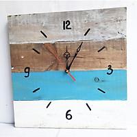 Đồng hồ treo tường decor trang trí phòng độc đáo - tặng pin đồng hồ, đồng hồ bằng gỗ chắc chắn, thích hợp làm quà tặng hoặc đồng hồ cho các homestay