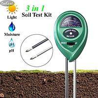 Máy đo ph, dụng cụ đo ph đất đa năng, đo độ ẩm, ánh sáng