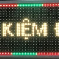 Biển quảng cáo màn hình LED thông minh HIKARU 3 màu, 2 mặt hiển thị, KT cao 360 x rộng 1000