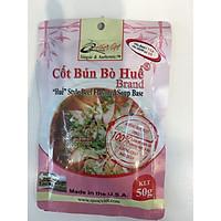 GIA VỊ NẤU Bún Bò Huế Cốt Quốc Việt 50g-Gia vị hoàn chỉnh nhập khẩu