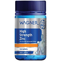 Wagner High Strength Zinc 120 Tablets