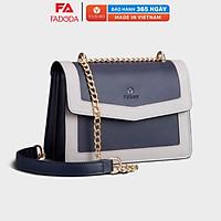 Túi đeo chéo nữ thời trang FN92, 7 ngăn, vừa sổ tay, ví, điện thoại, phù hợp đi chơi, đi làm, đi tiệc, da tổng hợp cao cấp, không bong tróc, không thấm nước
