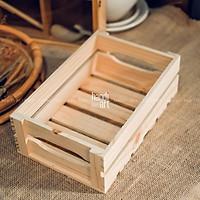 Khay gỗ pallet, khay gỗ chữ nhật đa năng, Khay gỗ trang trí - wooden pallet